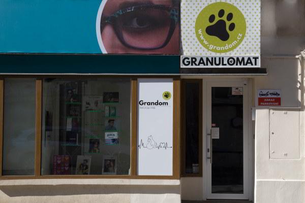 Osobní odběr v Granulomatu