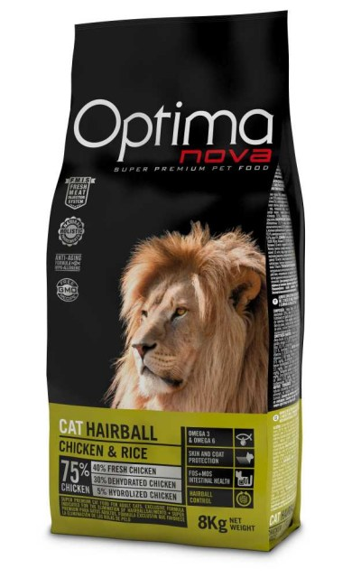 OPTIMAnova CAT HAIRBALL 8kg-10819