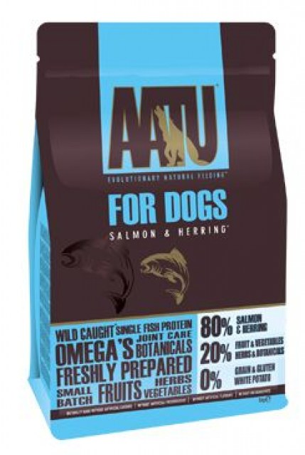 AATU Dog 80/20 Salmon & Herring 5kg