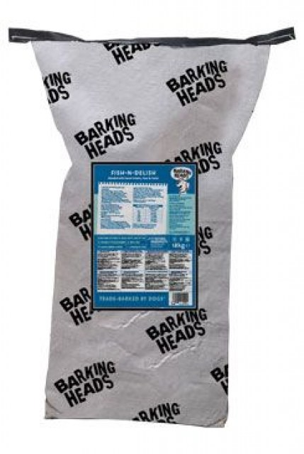 BARKING HEADS Fish-n-Delish NEW 18kg