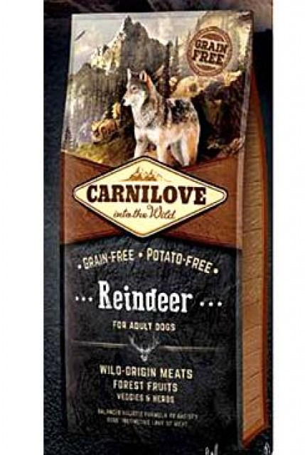 Carnilove Dog Reindeer for Adult 12kg