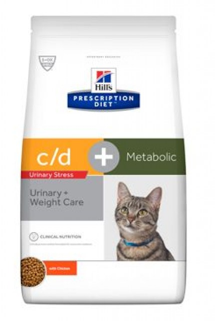 Hill's Fel. C/D dry Urinary Stress+Metabolic 1,5kg