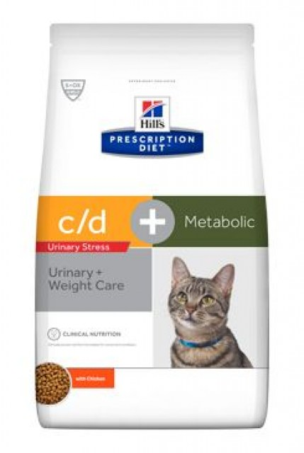 Hill's Fel. C/D dry Urinary Stress+Metabolic 8kg