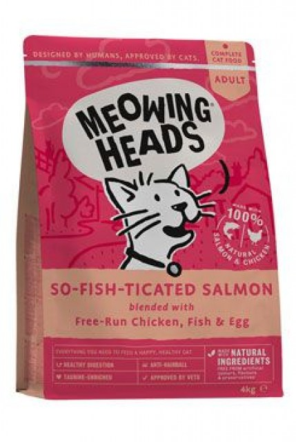 MEOWING HEADS So-fish-ticated Salmon 4kg
