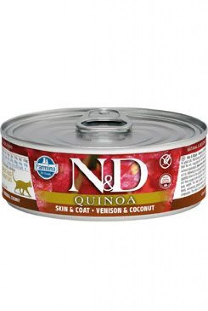 N&D CAT QUINOA Adult Venison & Coconut 80g