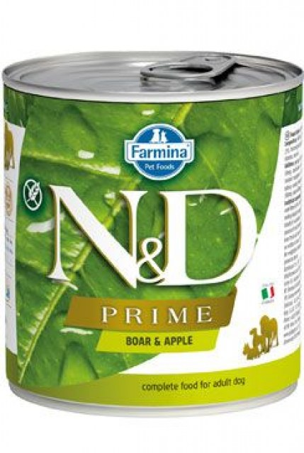 N&D DOG PRIME Adult Boar & Apple 285g