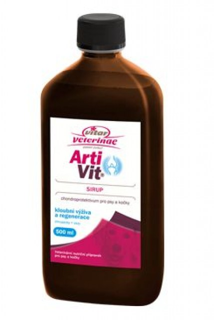 VITAR Veterinae ArtiVit Sirup 500ml