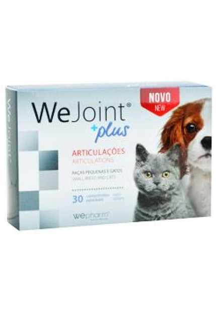 WeJoint Plus small breeds & cats 30 tbl
