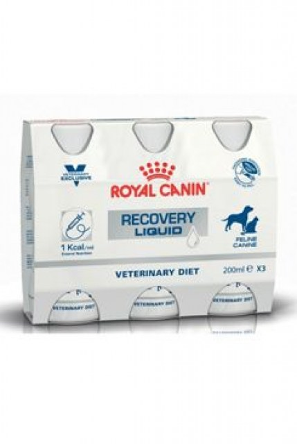 Royal Canin VD Fel / Can Recovery Liquid 3x200ml