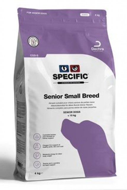 Specific CGD-S Senior Small Breed 1kg pes