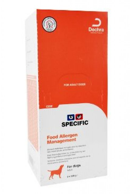 Specific CDW Food Alergy Management 6x300g konz. pes