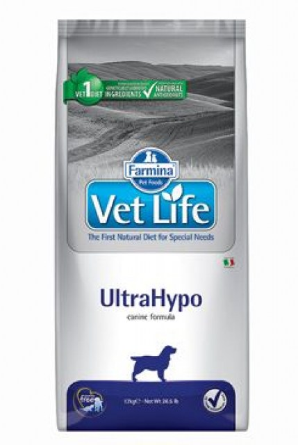 Vet Life Natural DOG Ultrahypo 12kg