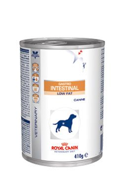 Royal Canin VD Canine Gastro Intest Low Fat 410g konz